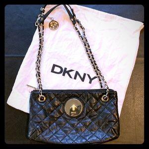 DKNY Soft Black Purse NWOT